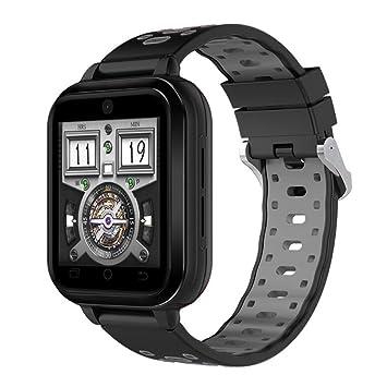 Q1 Pro MTK6737 Quad Core Android 6.0 4G Reloj Inteligente 1GB / 8GB Smartwatch Teléfono Frecuencia Cardíaca Sim Card Soporte Correa Reemplazable,Black: ...