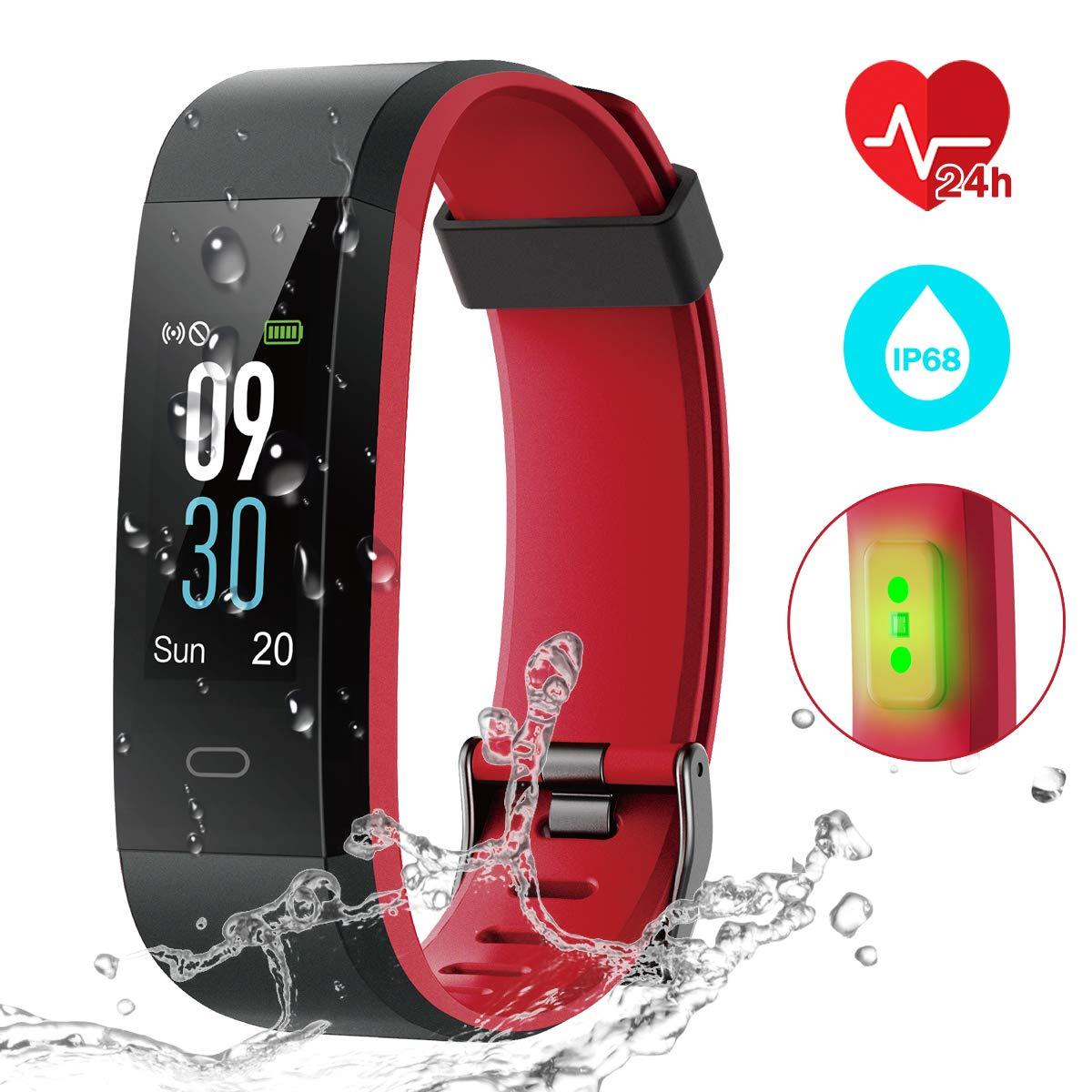 CHEREEKI Fitness Tracker IP68, Orologio Fitness con 14 Modalità di Allenamento product image
