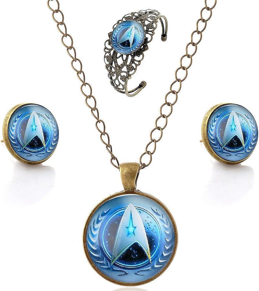 Stud Earrings Jewelry Gem Stars