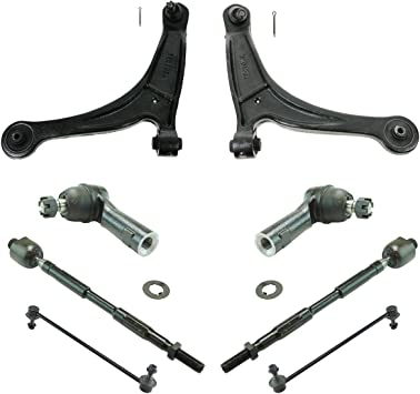 Steering /& Suspension Kit Set of 16 Control Arms Sway Links Ball Joints Tie Rods