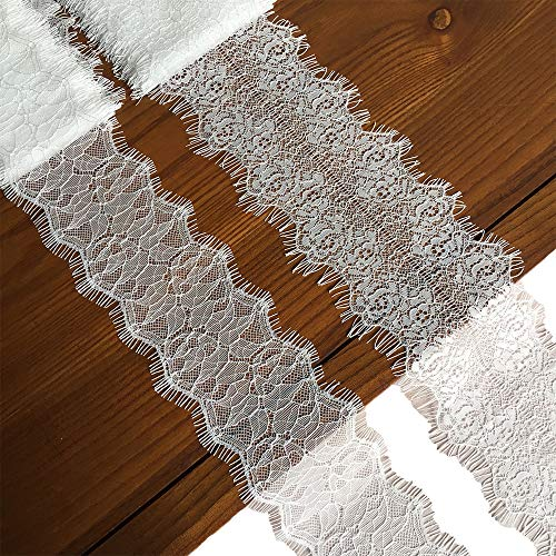 How to buy the best white lace ribbon 4 inch wide?