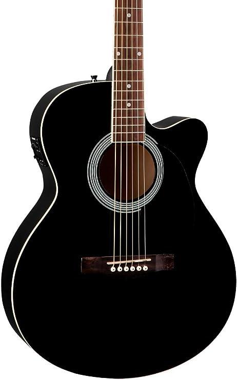 Fender fa-135ce Cutaway Guitarra Electroacústica de Concierto ...