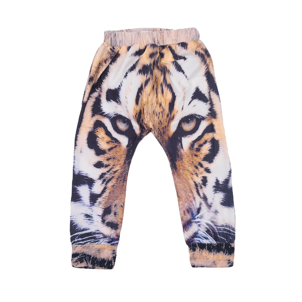 Little Hand Baby Boys Girls Harem Long Pants Kids Cute Cartoon Tiger Animal Pattern Harem Long Pants Trousers Leggings Clothes 68802A20