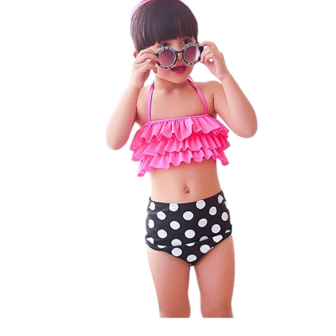 22d2806160a88 Image Unavailable. Image not available for. Color: Children's Swimwear  Fashion Cute Girls Swimsuits Children's Sexy ...