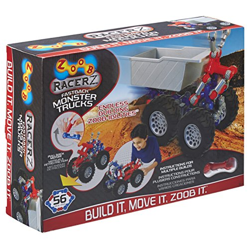 (ZOOB RacerZ Fastback Monster Trucks)