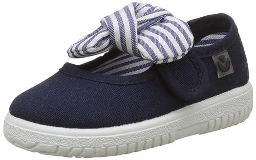 Victoria Mercedes Lona Pañuelo, Zapatillas para Bebés: Amazon.es: Zapatos y complementos