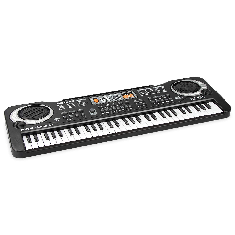 Piano for Kids,aPerfectLife Multi-function 61 Keys Electronic Organ Kids Piano Musical Teaching Keyboard Toy For Kids Children