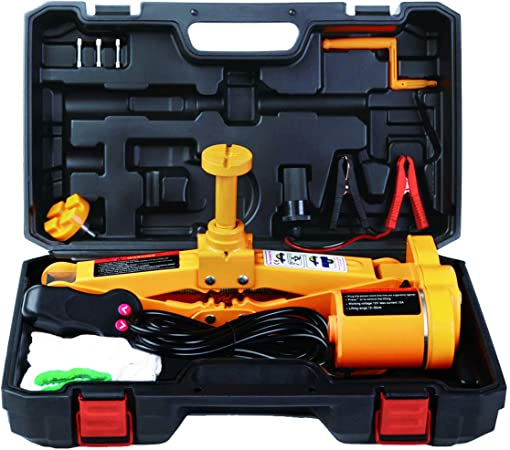 3 Ton Electric Jack DC 12V All-in-one Lift Scissor Jack Repair Tool For Car Auto