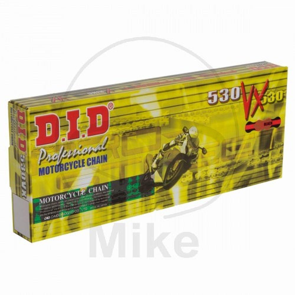 D.I.D 530/vxgbx116zb ouvert Cha/îne avec rivet Lien or//noir