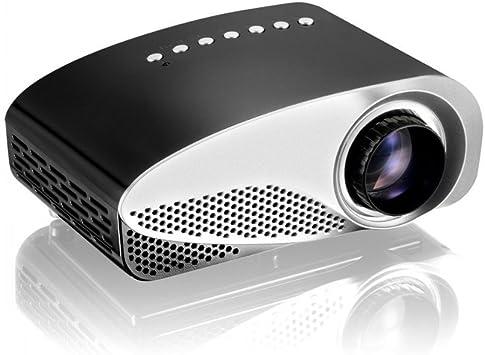GP8S Mini proyector de Bolsillo portátil, proyector de vídeo a la ...