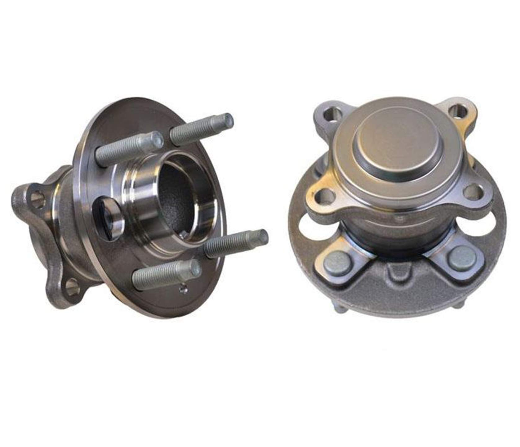 100% New REAR Left & Right Wheel Hub Bearings for Chevrolet Spark 13584682 16-17 by Mac Auto Parts