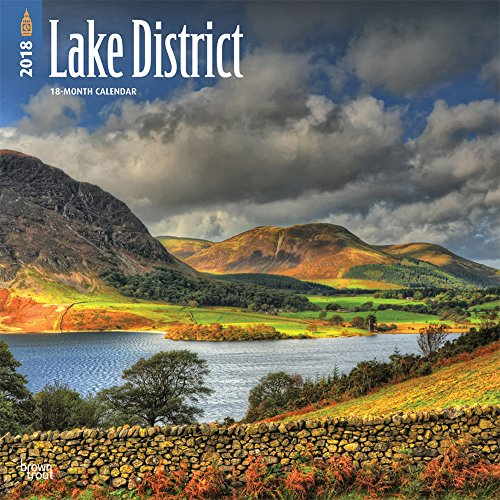 Lake District 2018 12 x 12 Inch Monthly Square Wall Calendar, UK United Kingdom Scenic Nature (Photos Calendar Featuring Scenic)