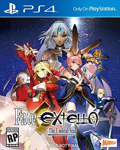 Fate/EXTELLA: The Umbral Star - PlayStation 4 by Xseed