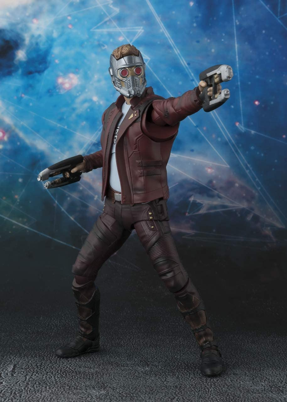 6/'/' S.H.Figuarts Star-Lord Figure Avengers Infinity War Toy New in Box