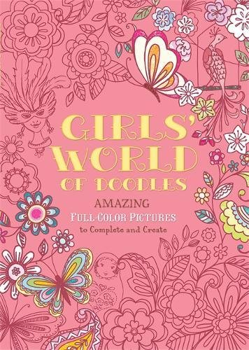 Girls Doodle Book - 4