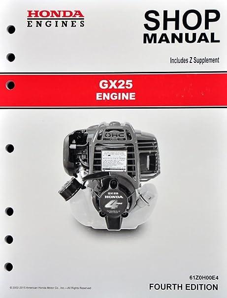 gx25 honda service manual