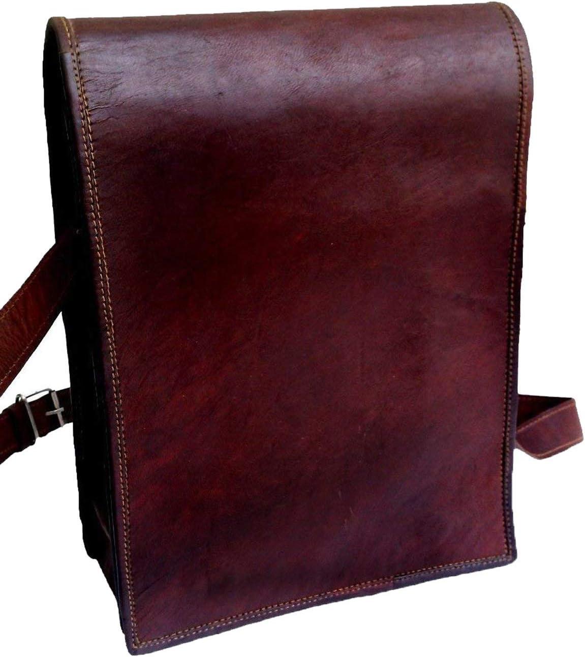 11 small Leather messenger bag shoulder bag cross body vintage messenger bag for women /& men satchel man purse competible with Ipad and tablet