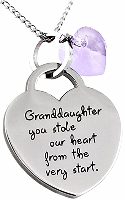 Amazon Granddaughter Necklace