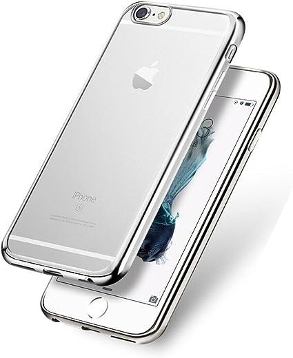 WELKOO Funda para iPhone 7 / iPhone 8, Funda Transparente Cristal ...