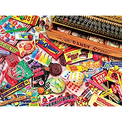 Ceaco Aimee Stewart Vintage Candy Shop Puzzle 1000 Piece By Ceaco