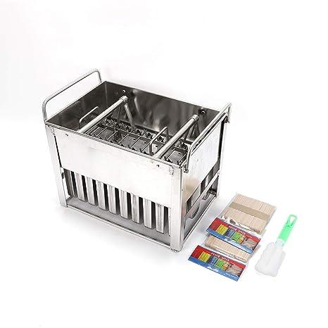 Amazon.com: 30 moldes de acero inoxidable para helados ...
