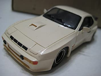 Record (France) White Porsche 924 Turbo Carrera Resin Kit 1:43