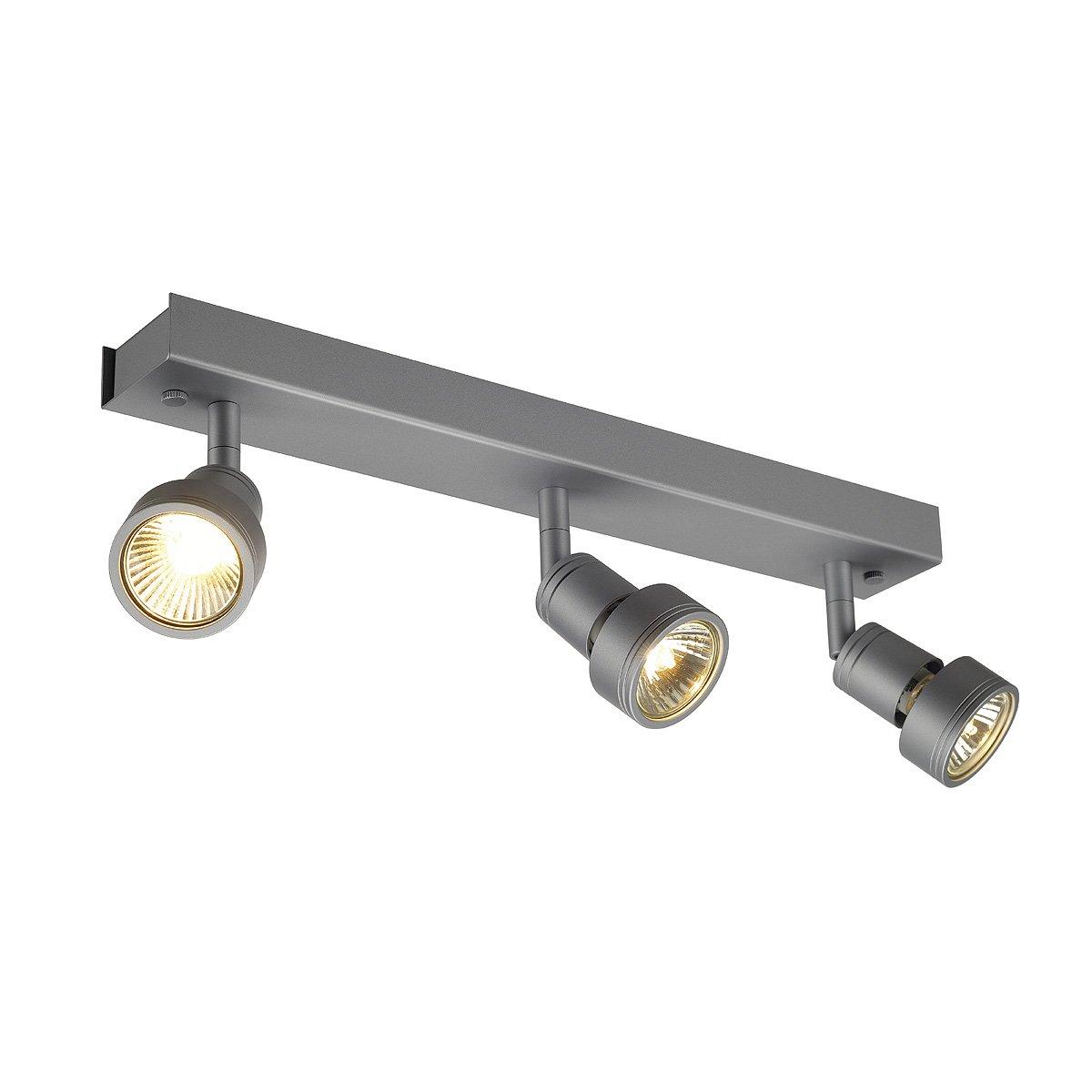 Slv Spot Salle De Bain ~ slv spot aluminium silber gu10 1w 230v amazon fr luminaires et
