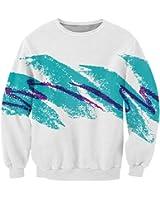 RAISEVERN Unisex 3d Print Ugly Christmas Pullover Sweater Jumper Various Design