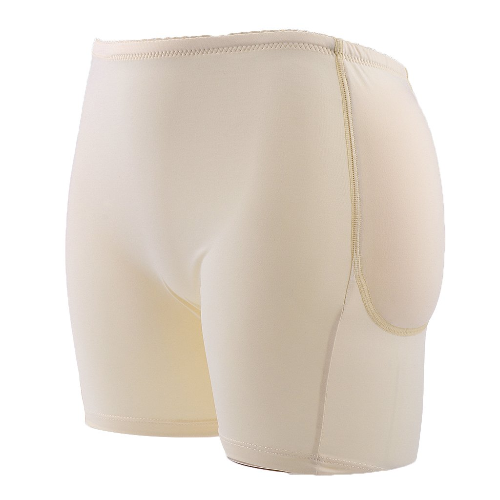 f51878a11f Phenovo Women s Silicone Pad Panty Butt Enhancer Hip Up Underwear Shapewear  (Beige