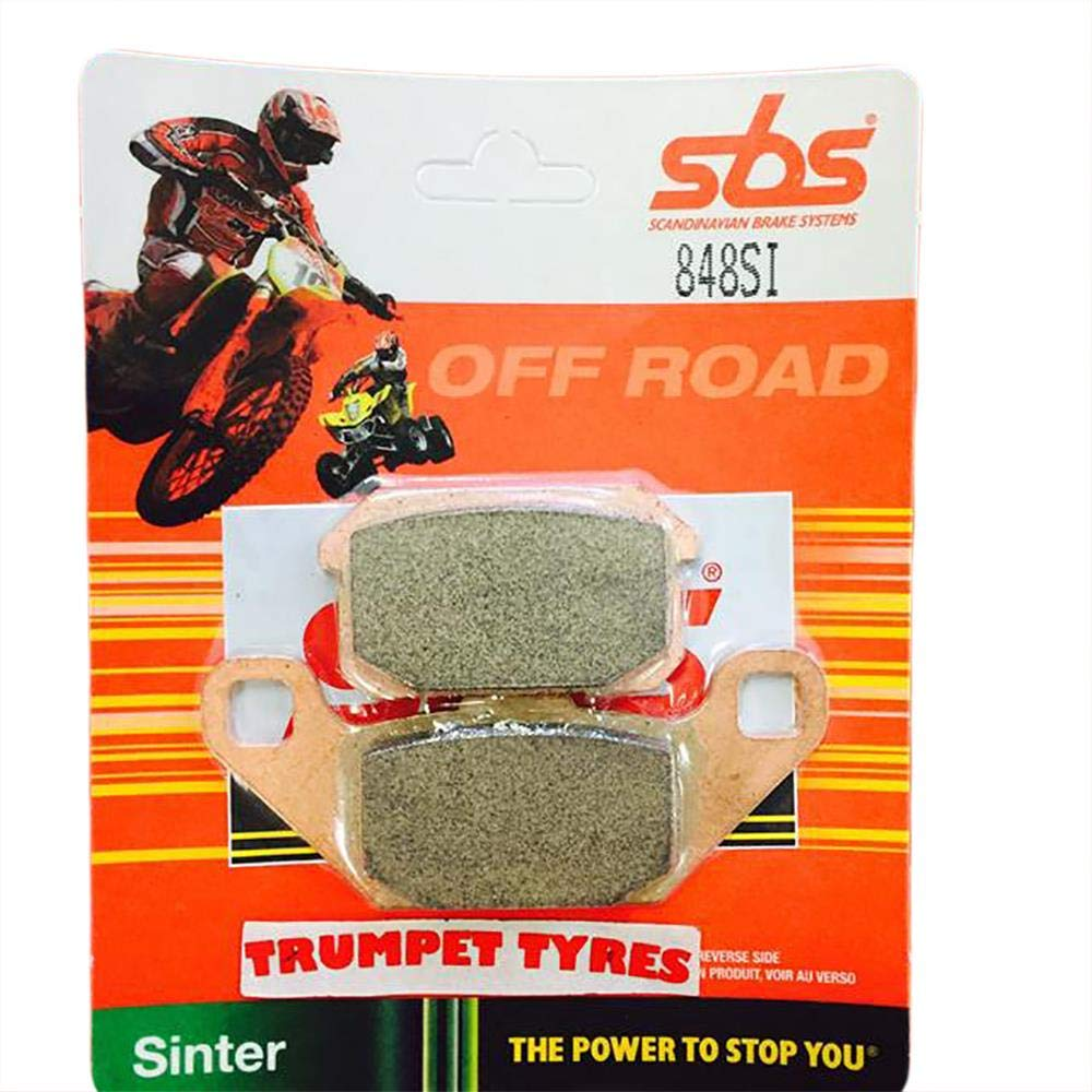 PGO BR 250 Bugrider 05 06 07 08 09 10 11 12 SBS Performance Rear Off Road Sintered Sinter Brake Pads Set Genuine OE Quality 848SI