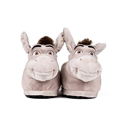 Zapatos grises Shrek Asno para mujer keSbIGJ56