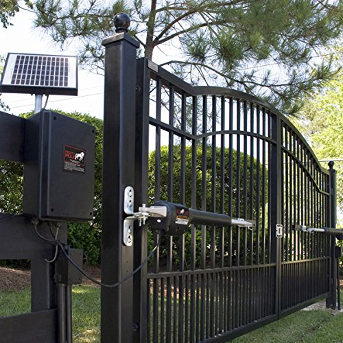 Mighty mule mm automatic gate opener for heavy duty