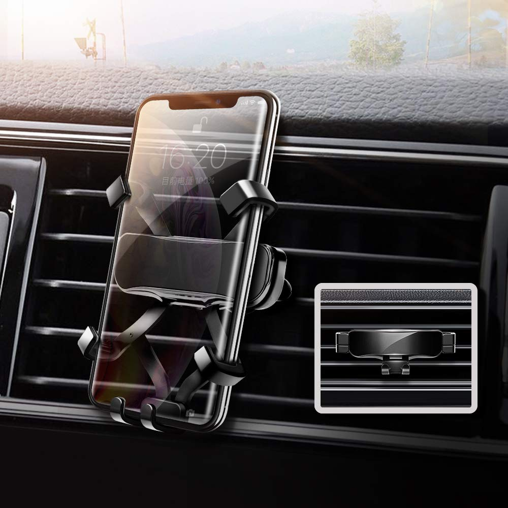 aokway 2021 Car Phone Holder Mount Gravity Car Cell Phone Holder iPhone