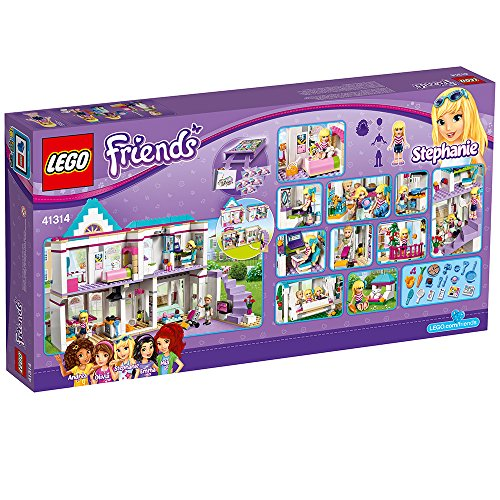 LEGO Friends Stephanie's House 41314 Toy for 6-12-Year-Olds by LEGO (Image #5)