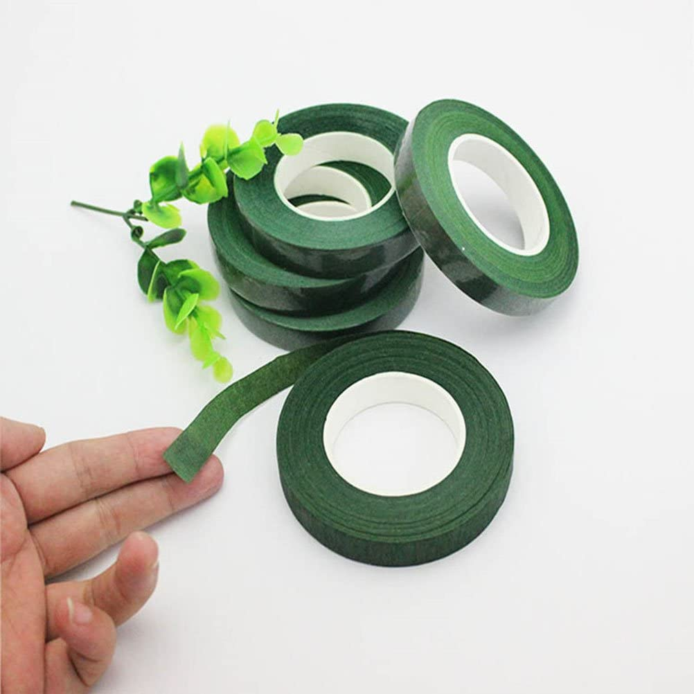 ultnice verte floraux Ruban Fleuriste Ruban adh/ésif Colle Ruban pour emballage Bouquet Stem Wrap