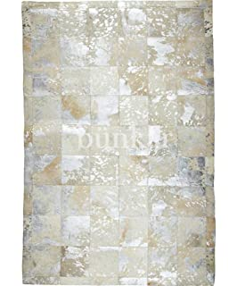 Amazon De Sunshine Cowhides Teppich Aus Kuhfell Patchwork Farbe