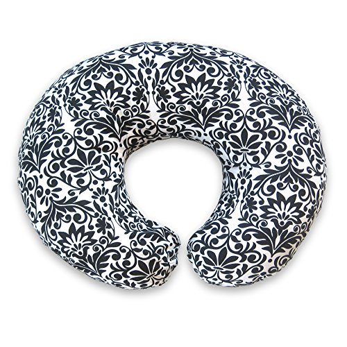 Boppy Nursing Pillow and Positioner, Brocade Black and White by Boppy