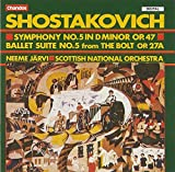 #4: Shostakovich: Symphony No. 5 in D minor, Op.47 / Ballet Suite No. 5 from The Bolt Op. 27A
