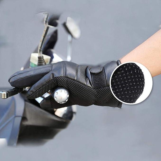 GSNML Guantes Calefactables Moto Invierno Caza USB Recargables con Hombres Mujeres Calentados T/érmicos Guantes Impermeables De Pantalla T/áctil De Invierno para Ciclismo De Deportes Al Aire Libre