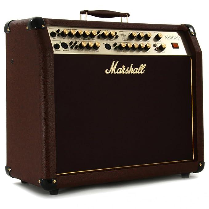 Amplificador guitarra marshall combo acustico 100w: Amazon.es: Instrumentos musicales