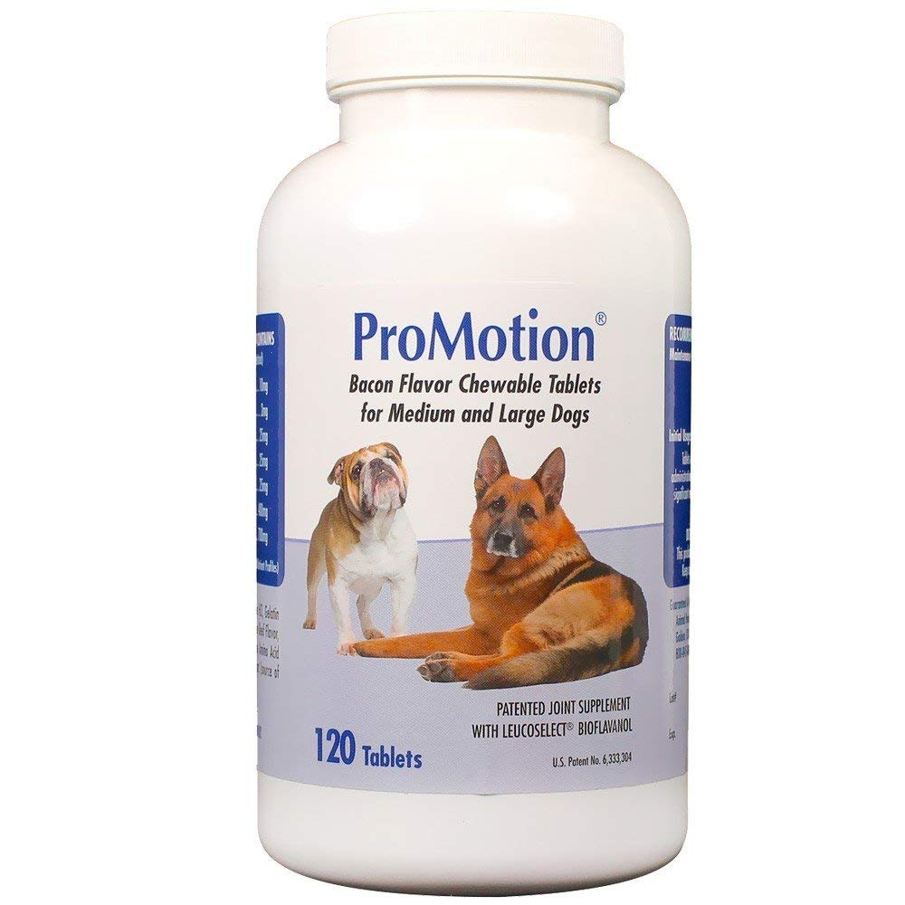 ProMotion For Medium & Large Dogs, 120 Chewable Tablets by Unknown