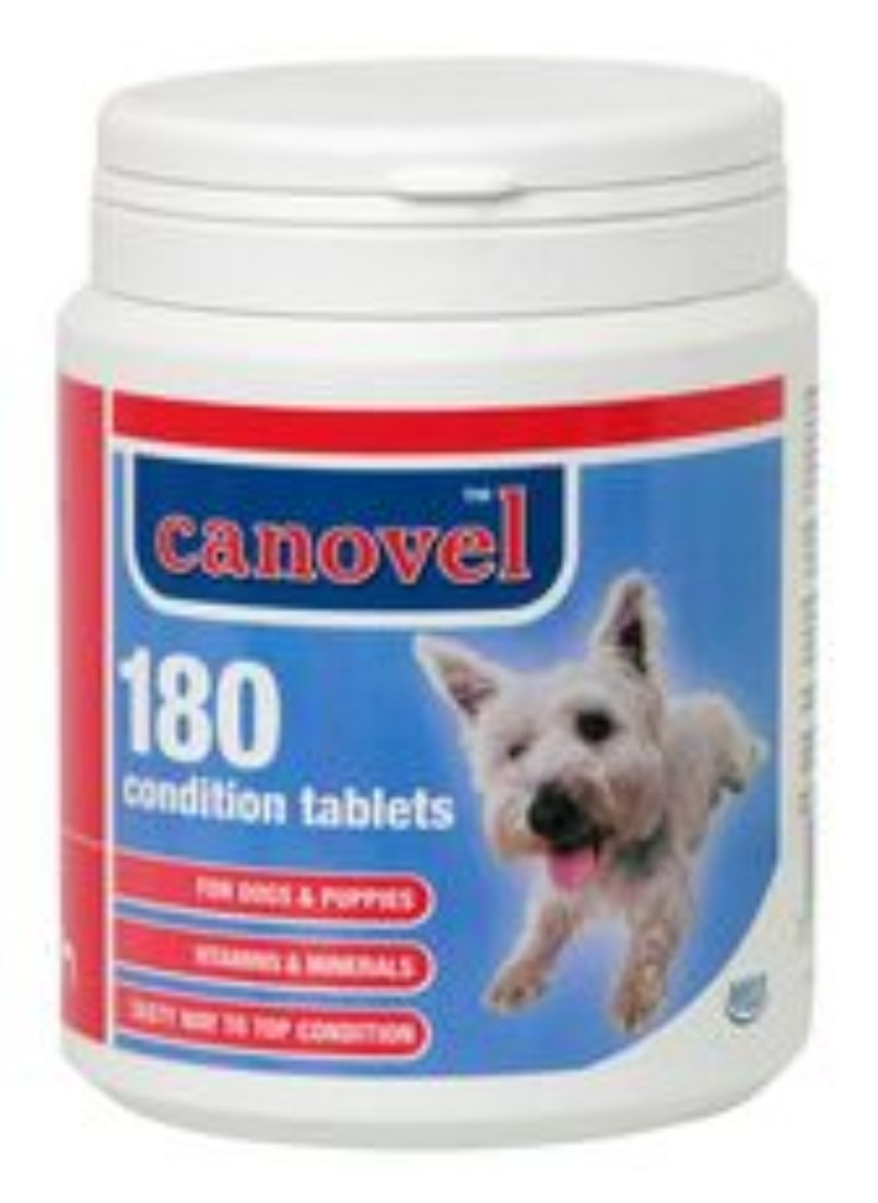 Canovel Condition Tablets X 180 700G
