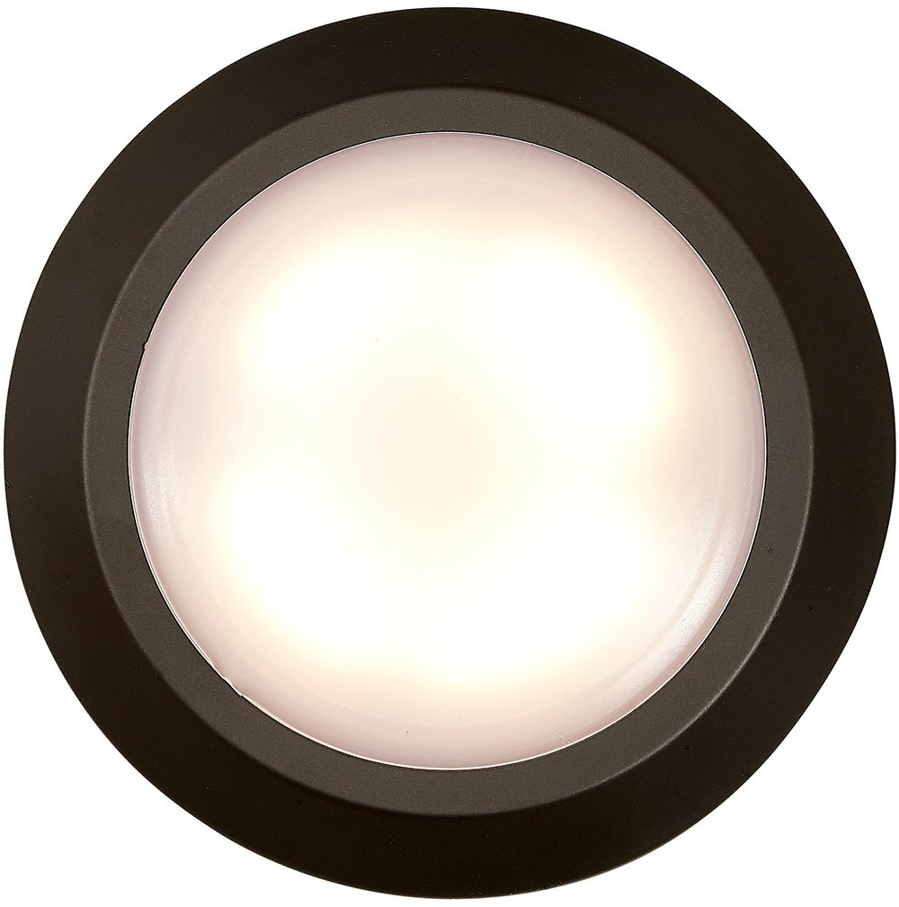 New Round Flush Mount Thin Ceiling Light Led Disc Shaped Thinnest Wiring A Fixture Dimmable Lighting Direct Wire