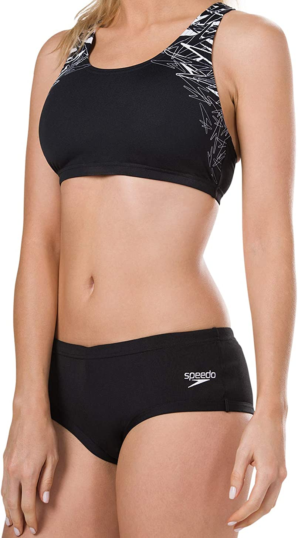 Speedo flipturns deux pièces incurvées maillot de bain 810838C243 Femme Bikini