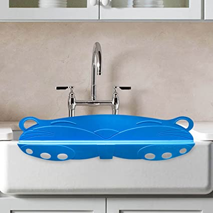 Splash Guardian | Universal Sink Water Splash Guard With Hanging Hoops For  Wash Basin Dish Washing