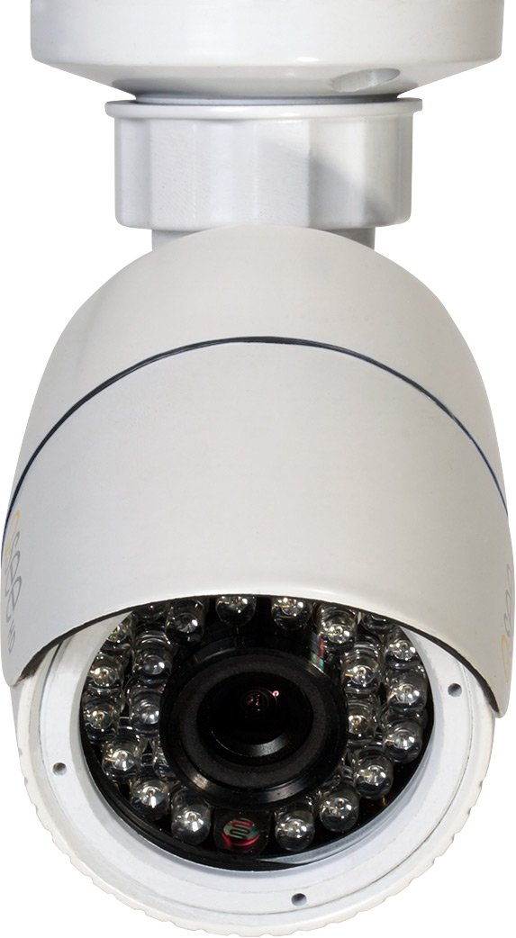Q-See (Certified Refurbished) QTN8037B-R 3MP/1080P Fixed High Definition IP Bullet Security Camera (White)