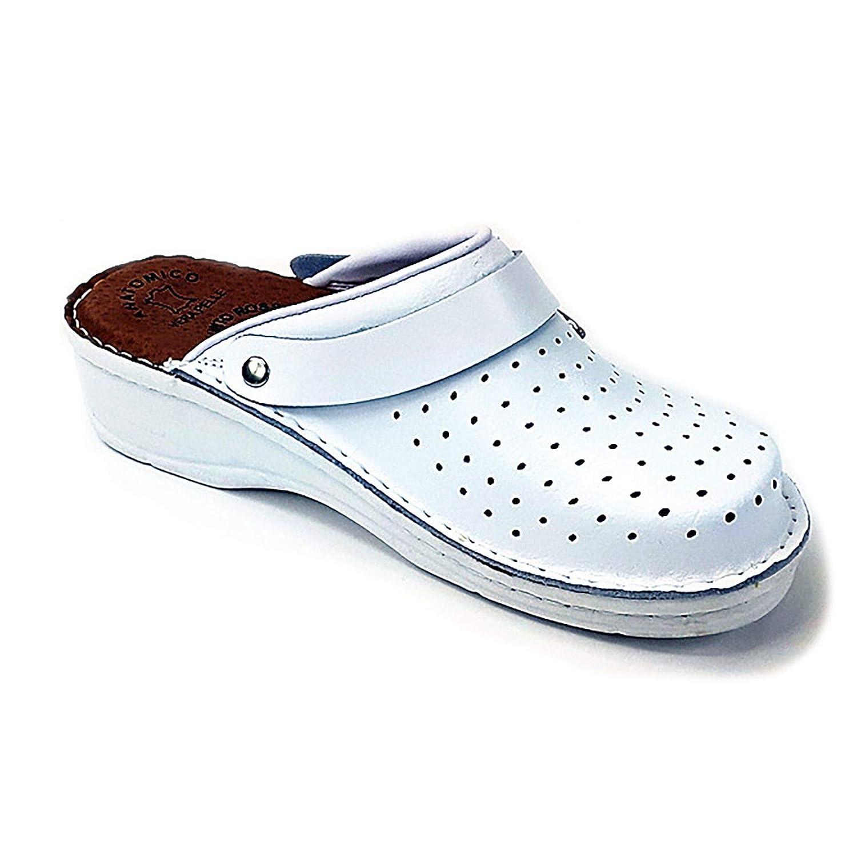 Dr Punto Rojo BRIL D53 Zuecos Zapatos Zapatos Zapatos Zapatillas de Cuero para Mujer 0e39a6