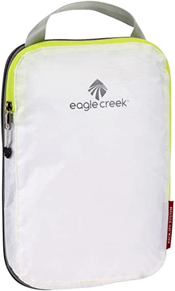 Eagle Creek Hardside Luggage Set, 2 Piece, White/strobe, 18 Centimeters 104EC411870021004