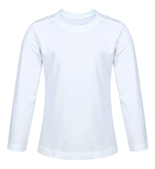 Mens//Boys Long Sleeved White School//Work Shirts in 100/% Cotton X 6