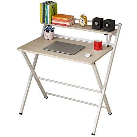 Ml-Tables 80 x 50 cm, Mesa de Estudio Plegable para Escritorio ...